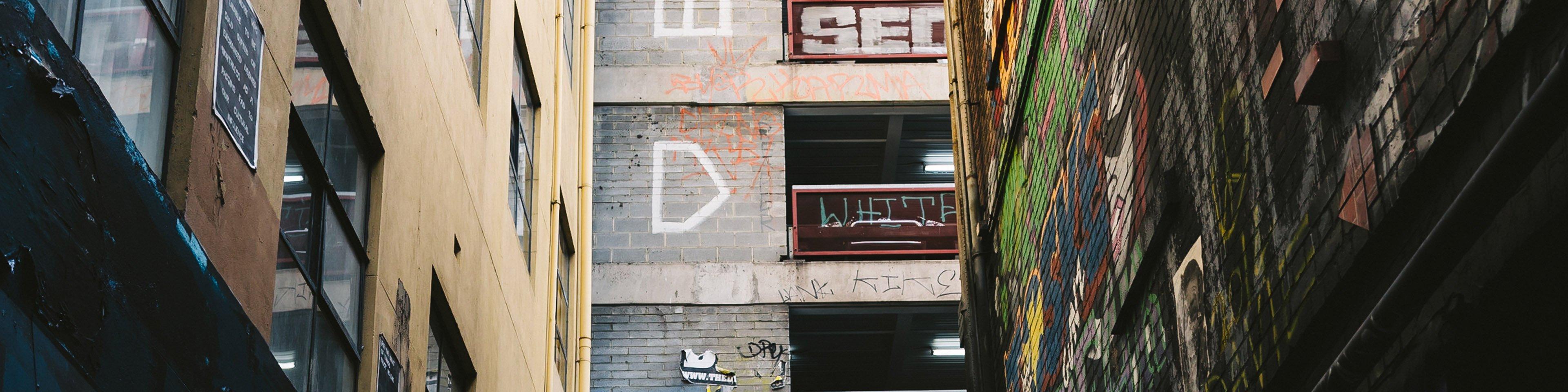 Melbourne Graffiti Alley