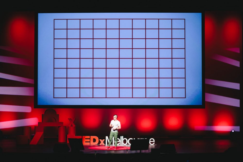 TEDxMelbourne Travis Bell Squares