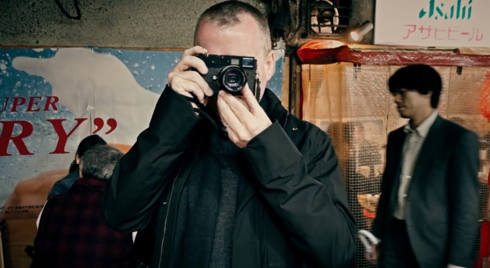 Dave Powell with his Leica in Smugmugs Point, Click, Shoottokyo