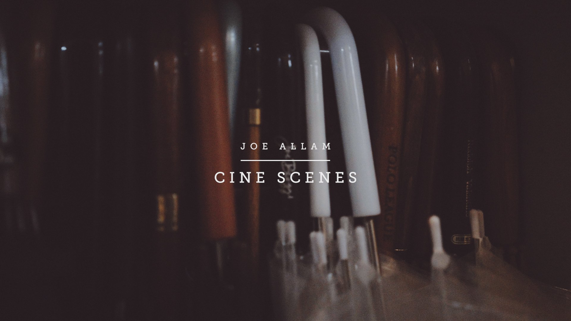 Joe Allam Tokyo Rain Cine Scenese