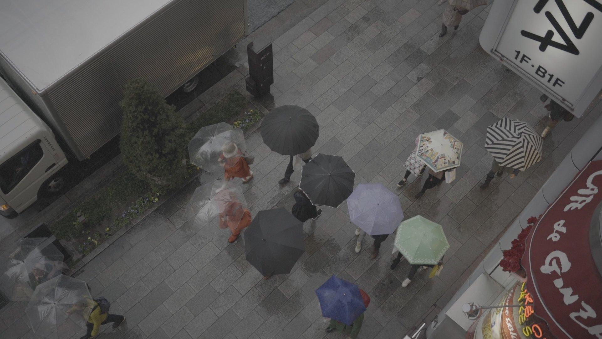 Tokyo Rain Cine Scenes Ungraded
