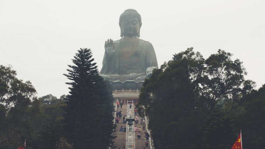 Lantau Island Big Buddha Still from the Hong Kong Jelly Journeys Montage
