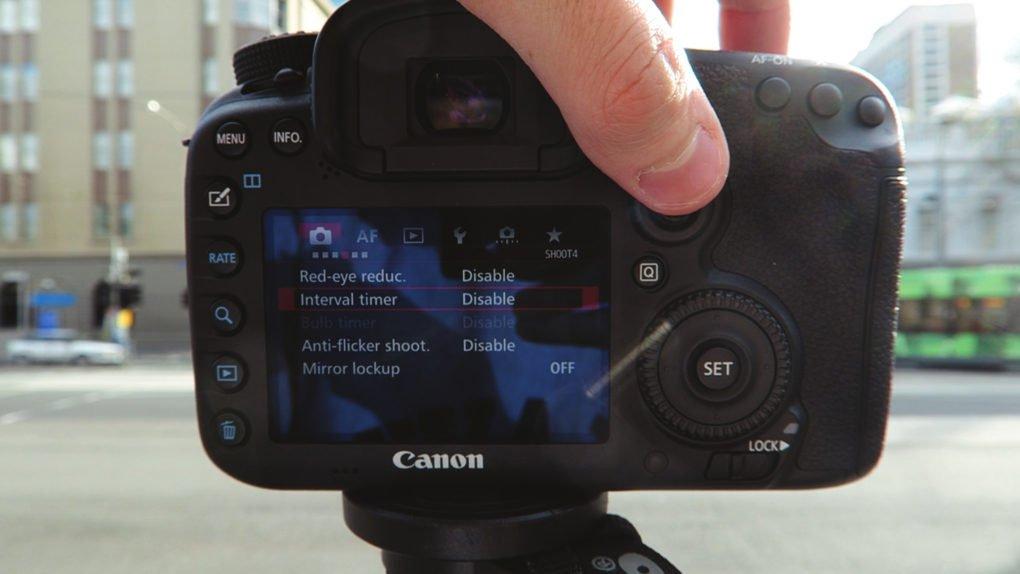 Canon 7D Intervalometer