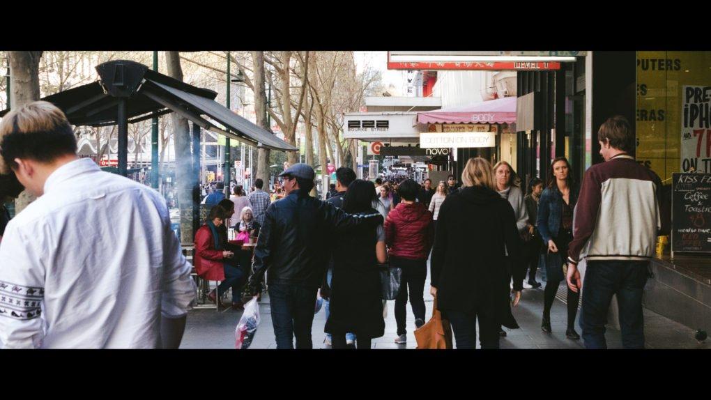 Melbourne Bourke Street Hyperlapse