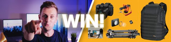 Giving Away a Camera and More! — #ArtInTheHeart2019 Filmmaker Competition