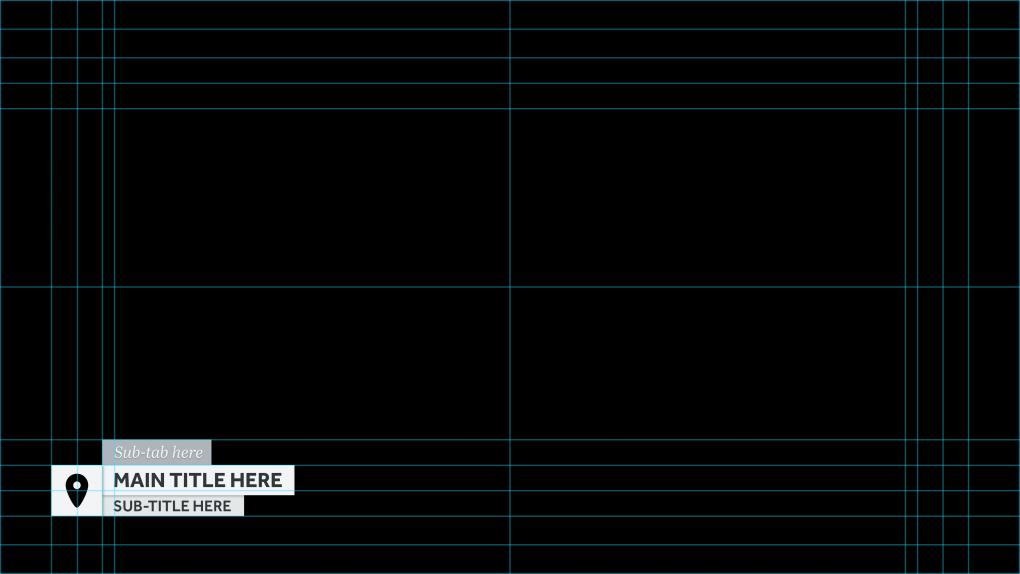 Grid system for BASE TITLES